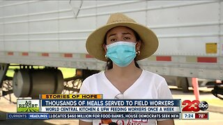 UFW helps deliver meals to Delano farm worker families