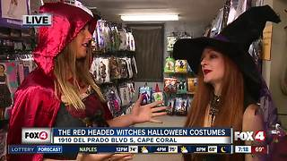 Halloween costume preview at Red Headed Witches in Cape Coral - Video