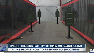 Unique training facility to open - Video