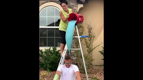 Wife puts new spin on gender reveal for husband