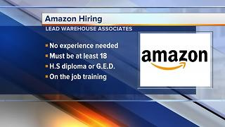 Amazon is Hiring! - Video