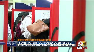 Some voters confused over Issue 2 - Video