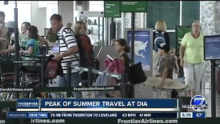 Record travel at Denver International Airport