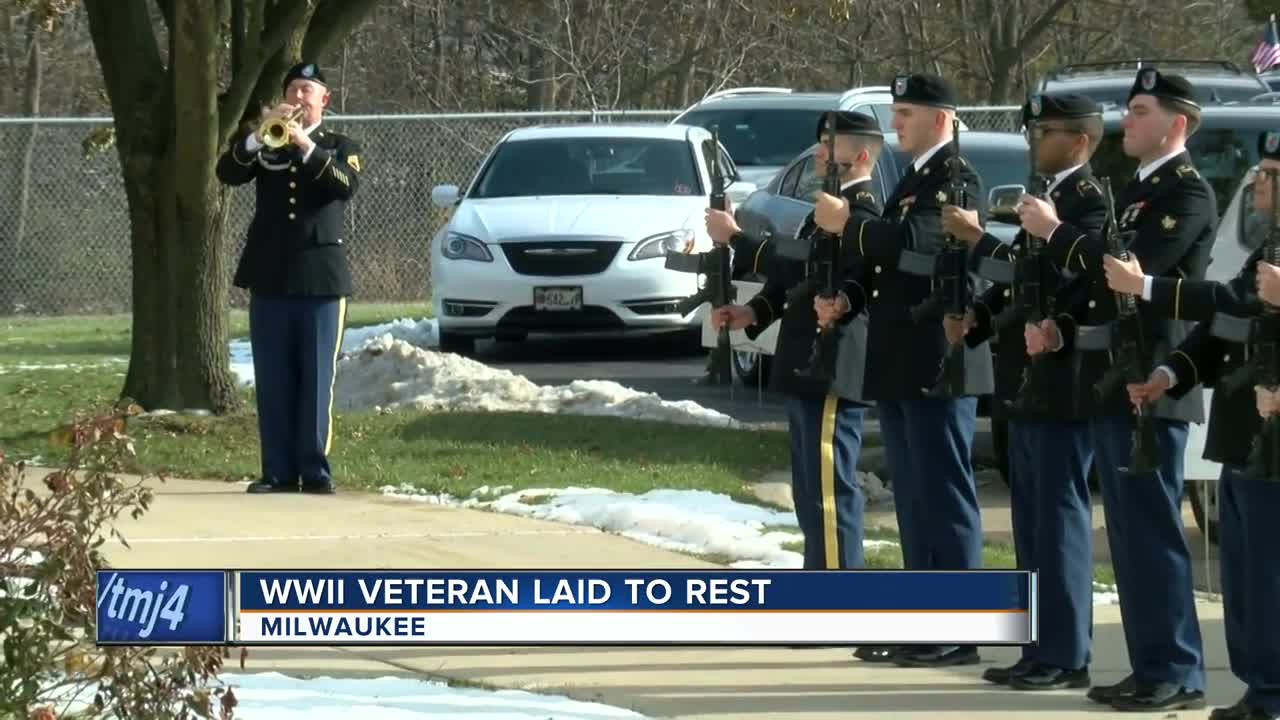 WWII Veteran laid to rest years after his death