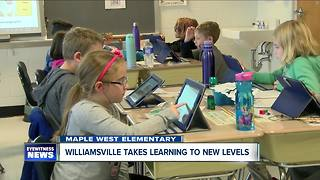 Williamsville school district takes learning to new digital heights - Video