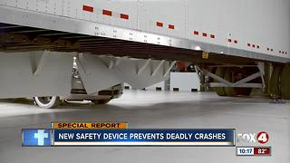 Crash test intensifies call for side bumpers on tractor-trailers - Video