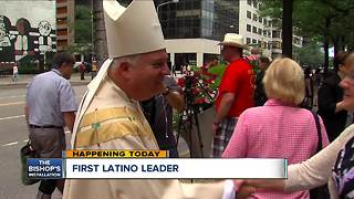 Bishop Nelson J. Perez prepares to take over Diocese of Cleveland - Video