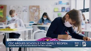 CDC argues schools can safely reopen
