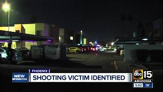 Police identify man shot and killed at apartment complex in west Phoenix