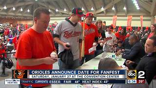 Orioles announce date for FanFest event - Video
