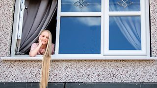 Rapunzel, Rapunzel, let down your hair: Woman is real life Rapunzel with four ft long hair - Video