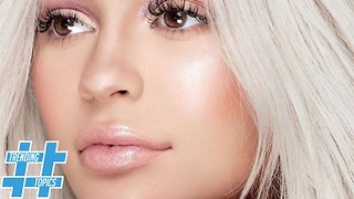 Kylie Jenner Helps Bring Back 90s Frosted Lips | HS Trending Topics - Video