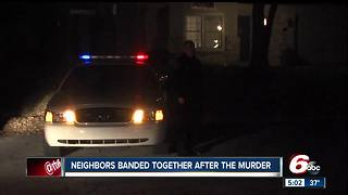 Neighbors continue to band together following murders - Video