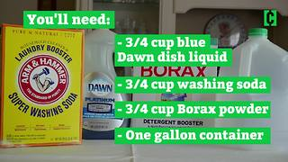 DIY Laundry Detergent - Video