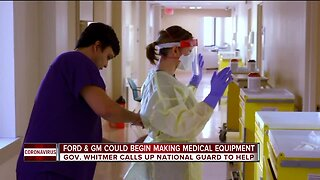 Ford, GM could begin making medical equipment