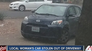 KC woman warns others after her car was stolen - Video