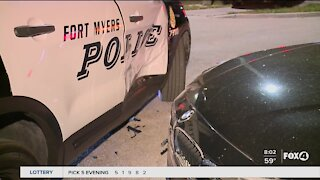 Driver rammed Fort Myers Police vehicle