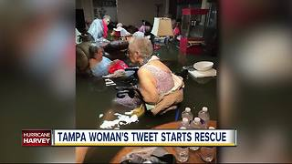 Tampa woman's tweet starts rescue at Texas nursing home - Video