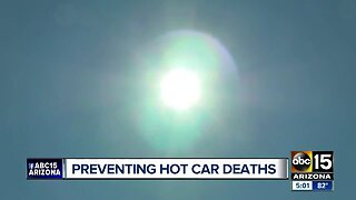One-year-old girl dies after being left in hot car