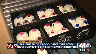 Fill the Fridge food drive this week