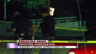 Man shot during carjacking on Detroit's west side