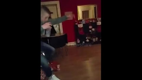 Irish Christmas party ends badly