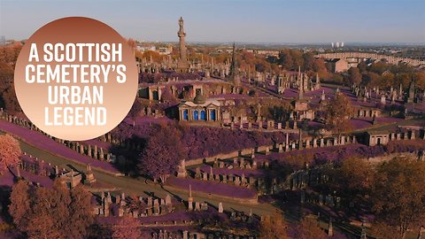 The gorgeous Scottish cemetery with a vampire past