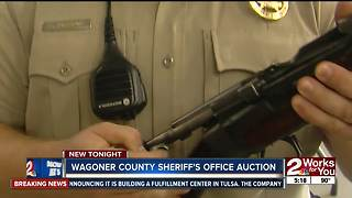 Wagoner County Sheriff's Office hosts property auction - Video