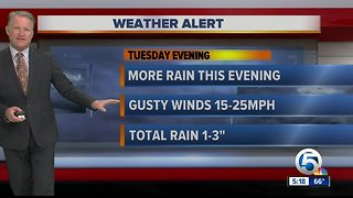 Tuesday night forecast