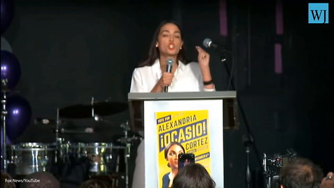 Ocasio-cortez Launches Into Wildly Divisive Victory Speech – 'Disturbing Human Rights Violations Being Committed By Ice'
