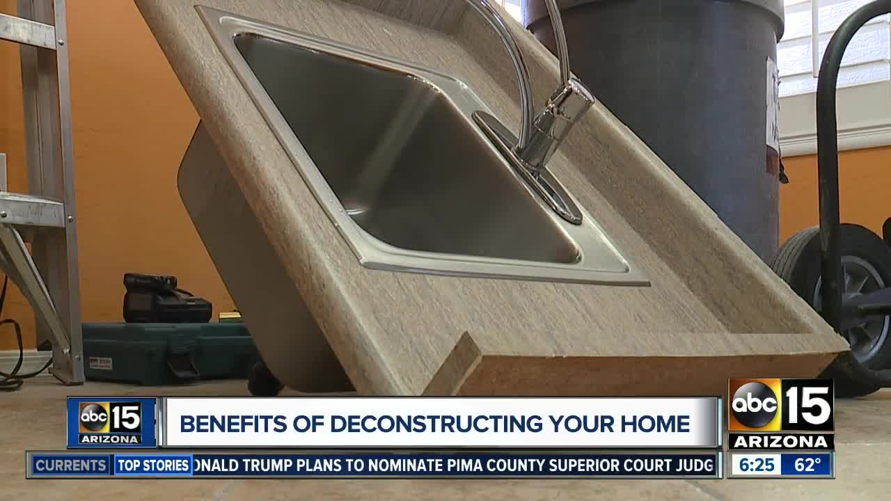 The benefits of deconstructing your home