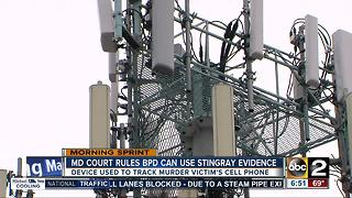 BPD can use cell phone surveillance evidence in murder case - Video