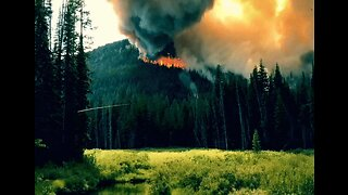 Campground Evacuated as Lightning Sparks Wildfire in Idaho's Payette National Forest