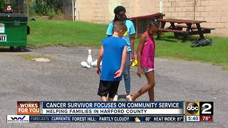 Cancer survivor focuses on community service - Video