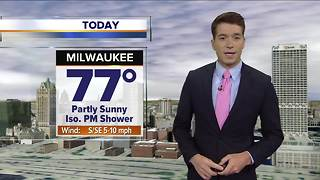 Clouds replacing sunshine this afternoon - Video