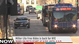 Options abound for safe rides on New Year's Eve - Video