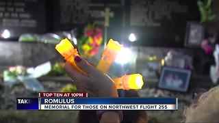 Memorial held for those on Northwest Flight 255 - Video