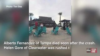 1 dead, 1 critical in Tampa Bay jet ski crash - Video