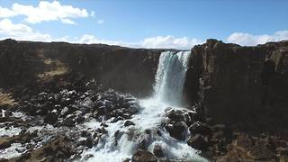 Drones capture extraordinary sights of Iceland - Video
