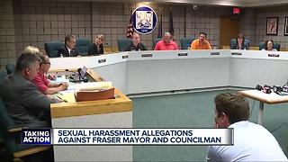Sexual harassment allegations against Fraser mayor and councilman