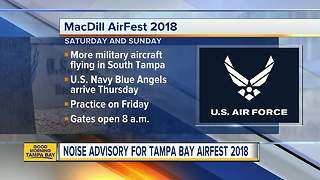 MacDill Airfest brings the noise to Tampa skies - Video