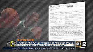 Former NBA player arrested by Aberdeen Police - Video