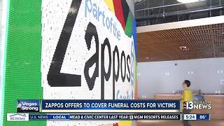 Zappos to pay funeral costs for Las Vegas shooting victims - Video