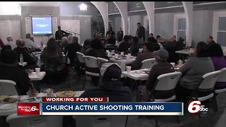 Faith leaders gather for active shooter seminar at Indy church - Video