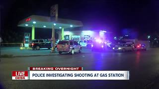 Police investigating shooting at gas station in Buffalo - Video