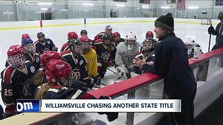 Williamsville girls hockey prepares for another state title run