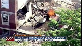 Two killed in Minneapolis school explosion - Video