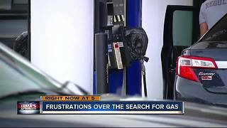 Frustrations over the search for gas - Video