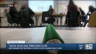 Teen Suicide Prevention: New training for AZ teachers and school staff