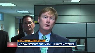 Adam Putnam files to run for FL Governor - Video